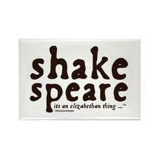 Shakespeare Rectangle Magnet (10 pack)