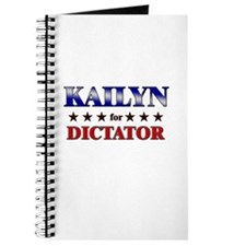 KAILYN for dictator Journal