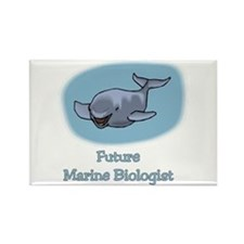 Future Marine Biologist 3 Rectangle Magnet