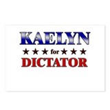 KAELYN for dictator Postcards (Package of 8)