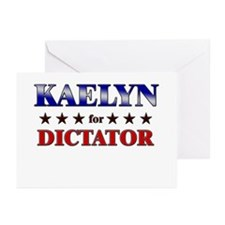 KAELYN for dictator Greeting Cards (Pk of 20)