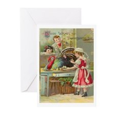 1910 Thanksgiving Greeting Cards (Pkof10)(Remake)