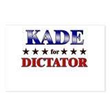 KADE for dictator Postcards (Package of 8)