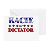 KACIE for dictator Greeting Cards (Pk of 10)