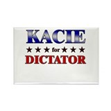 KACIE for dictator Rectangle Magnet