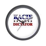 KACIE for dictator Wall Clock