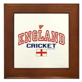 ENG England Cricket Framed Tile