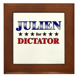 JULIEN for dictator Framed Tile