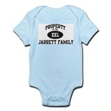 Property of Jarrett Family Onesie
