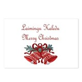 Lithuanian Christmas Postcards (Package of 8)
