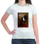 Lincoln / Rat Terreier Jr. Ringer T-Shirt