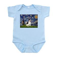 Starry / Rat Terreier Infant Bodysuit