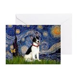 Starry / Rat Terreier Greeting Cards (Pk of 10)