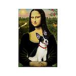 Mona / Rat Terrier Rectangle Magnet (10 pack)