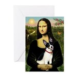Mona / Rat Terrier Greeting Cards (Pk of 20)
