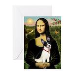 Mona / Rat Terrier Greeting Card