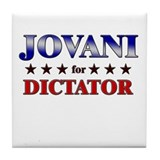 JOVANI for dictator Tile Coaster