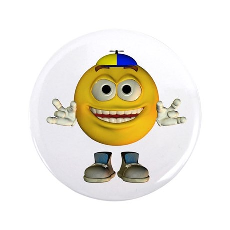 "ASL Boy 3.5"" Button"