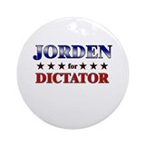 JORDEN for dictator Ornament (Round)
