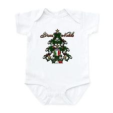 Italia Soccer Christmas Tree Infant Bodysuit