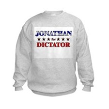 JONATHAN for dictator Sweatshirt