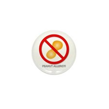 Cool Peanut allergy Mini Button (10 pack)