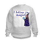 Magic Belief Wizard Kids Sweatshirt