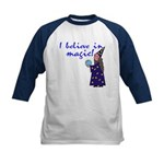Magic Belief Wizard Kids Baseball Jersey