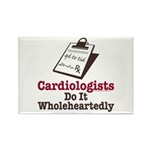 Funny Doctor Cardiologist Rectangle Magnet (100 pa