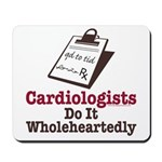 Funny Doctor Cardiologist Mousepad