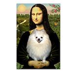 Mona / Pomeranian(w) Postcards (Package of 8)