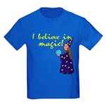 Magic Belief Wizard Kids Dark T-Shirt