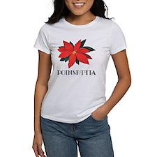Poinsettia Tee