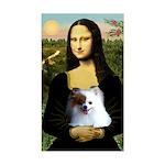 Mona / Pomeranian(r&w) Sticker (Rectangle)