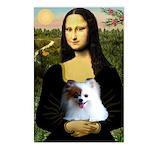 Mona / Pomeranian(r&w) Postcards (Package of 8)