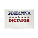 JOHANNA for dictator Rectangle Magnet