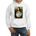 Mona/2 Pomeranians Hooded Sweatshirt