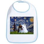 Starry/Pomeranian(r&w) Bib