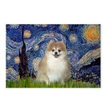 Starry / Pomeranian Postcards (Package of 8)