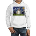 Starry / Pomeranian Hooded Sweatshirt