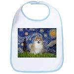 Starry / Pomeranian Bib