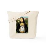 Mona/Pomeranian (#1) Tote Bag