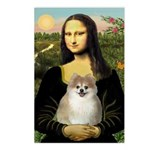 Mona/Pomeranian (#1) Postcards (Package of 8)