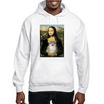 Mona/Pomeranian (#1) Hooded Sweatshirt