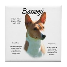 Basenji (chestnut) Tile Coaster