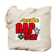Wannabe Rap Star Tote Bag