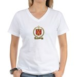 LANDRY Family Crest Women's V-Neck T-Shirt