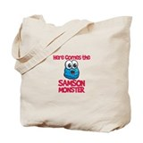 Samson Monster Tote Bag