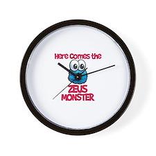 Zeus Monster Wall Clock