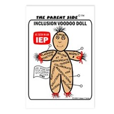 Inclusion Voodoo Doll Postcards (Package of 8)